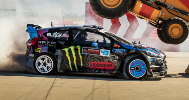 ST suspensions Engineered by KW, Teamed with Ken Block