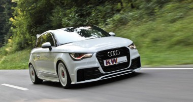 KW Variant 3+ coilover for special edition Audi A1 Quattro model