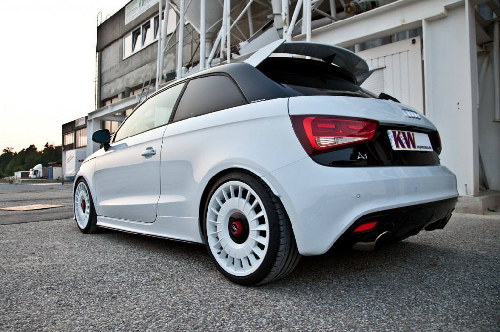 Kw Variant 3 Coilover For Special Edition Audi A1 Quattro Model Kw Automotive Blog