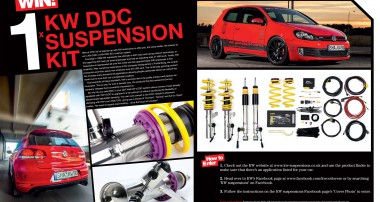 WIN! A KW Dynamic Damping Control coilover system for your car!