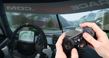 Introducing: RaceRoom Driving Controller
