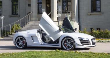 LSD Doors now available for Audi R8 models