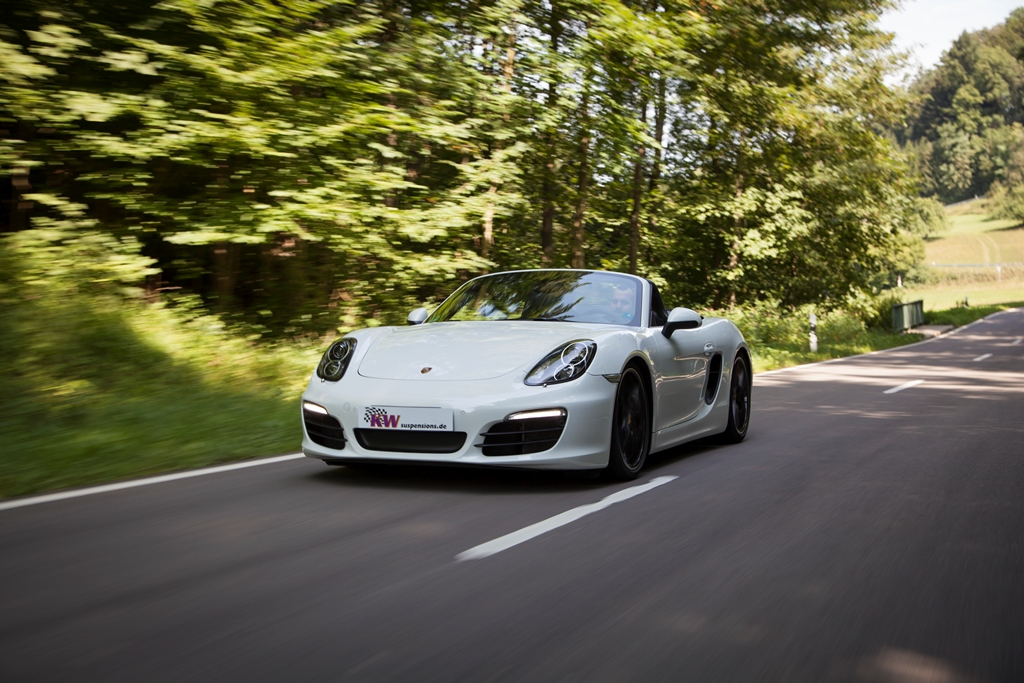 Kw Coilover Systems For Porsche Cayman 981 Kw Automotive Blog