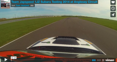 VIDEO: Team Japspeed 1JZ Subaru Testing
