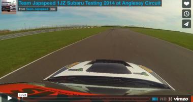 VIDEO: Team Japspeed 1JZ Subaru Testing