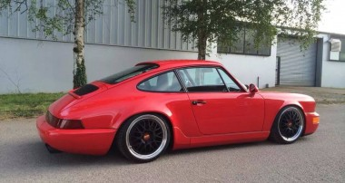 RANDOM SNAP: Greh Howell's immaculate Porsche 964
