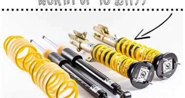 WIN! 1 x ST suspensions coilover system with Fast Car Magazine!