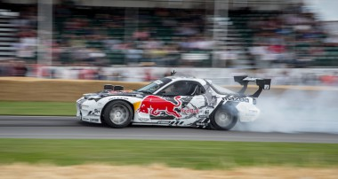 Red Bull professional drifter MadMike Whiddett and KW suspensions team up