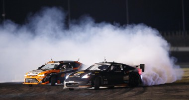KW-equipped Chris Forsberg makes the semi-finals @ Formula D and maintains championship lead