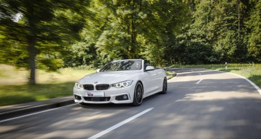 KW coilover kits for the new BMW 4-series convertible