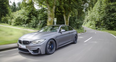 KW lowering springs with continuous height adjustment for BMW M4 and further cars