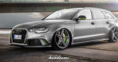 Mission Impossible? Super-low stance for new Audi RS6!