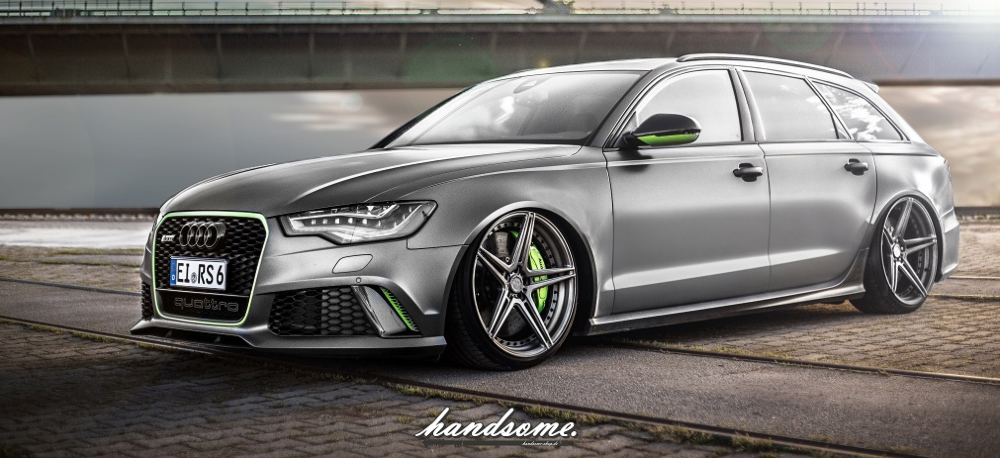 Mission Impossible Super Low Stance For New Audi Rs6