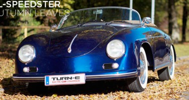 Style meets Future – The electric-powered 356 Speedster