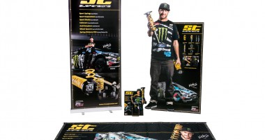 Ken Block for your Showroom! Check the new ST PoS material