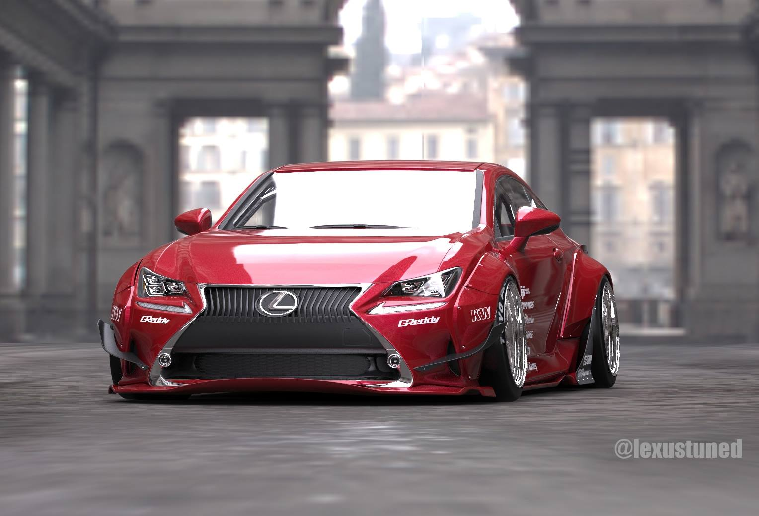 rocket-bunny-lexus-rc-readying-for-2014-sema_1