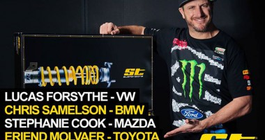 Ken Block ST suspensions Coilover Competition Winners