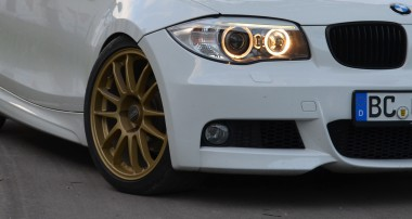 ST suspensions Winner Maximilian's BMW 1 Series