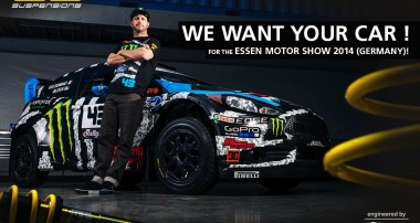We want your car for ESSEN MOTOR SHOW!