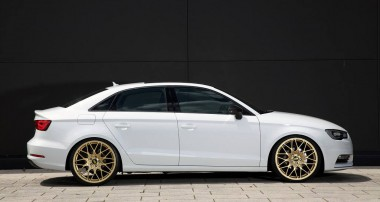 Style for the fast lane: KW coilovers for the new Audi A3 notchback sedan