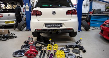 Scorpion Exhausts Mk6 Golf R gets the KW V1 treatment!