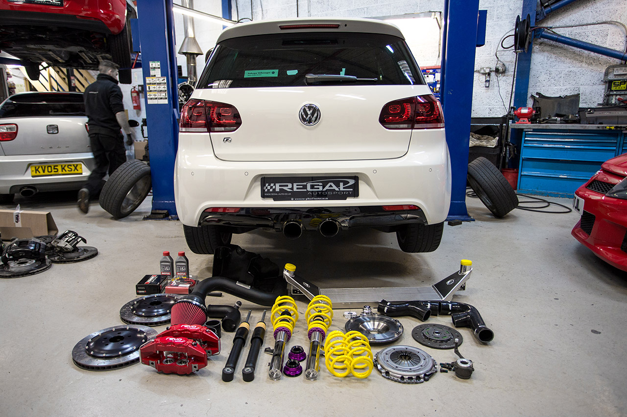 Scorpion Exhausts Mk6 Golf R gets the KW V1 treatment ...