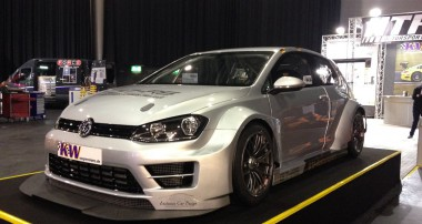 HTF Motorsport's Golf 7RS Race Car with KW suspension
