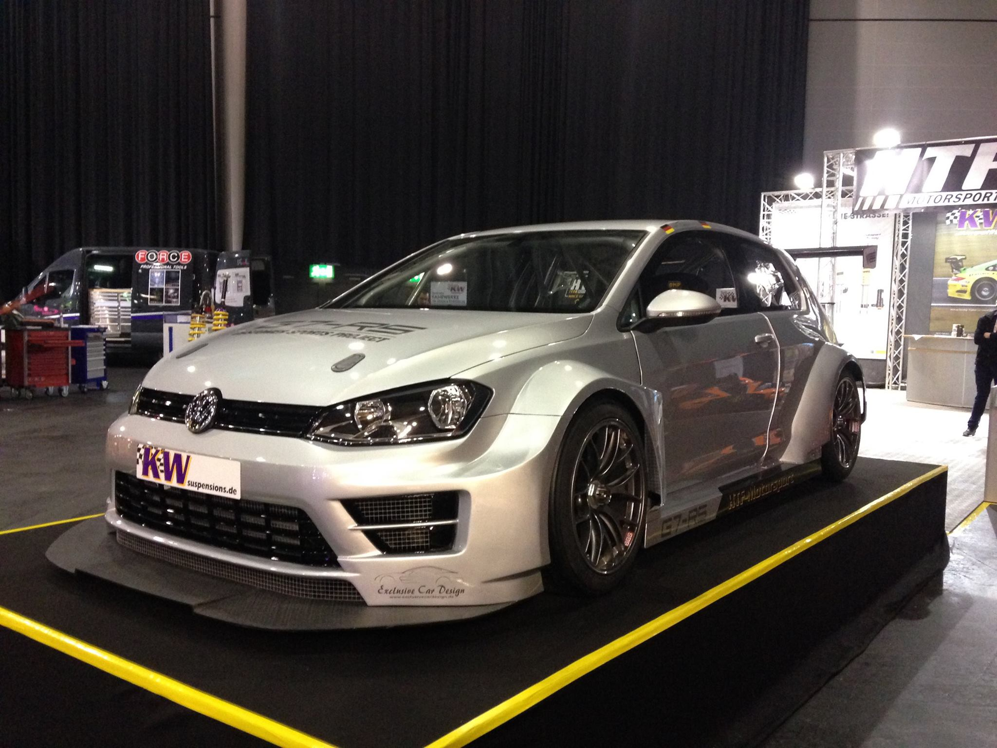 Htf Motorsport S Golf 7rs Race Car With Kw Suspension Kw
