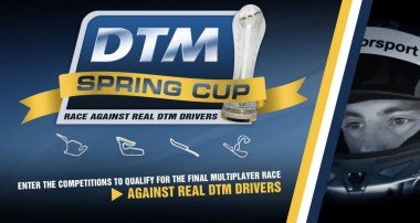 2015 DTM Spring Cup – Multiplayer-Action against the Stars of the DTM!