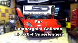 Lamborghini Gallardo LP 570-4 Superleggera with LSD-Doors