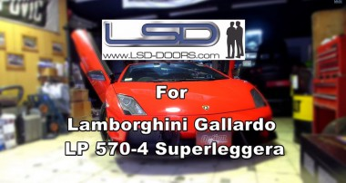 Lamborghini Gallardo LP 570-4 Superleggera with LSD-Doors