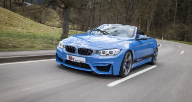 Maximum driving enjoyment: KW Coilovers for the new BWM M4 Convertible