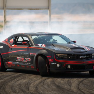 Cloud Machine: SLC's Formula Drift Camaro