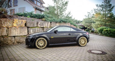 Latest Audi TT: ST springs and wheels spacers are now available