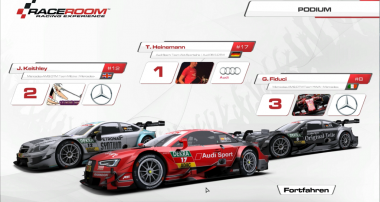 DTM 2015 Virtual Championship: Current Ranking after Round 1
