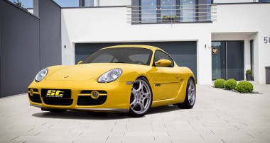 ST suspension kits for Porsche Boxster and Cayman 987