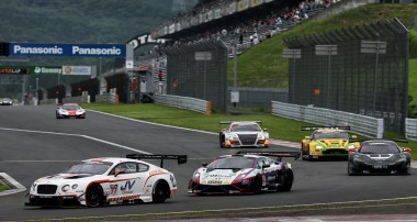 GT Asia: Victories for Ferrari and Bentley in Fuji