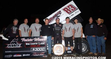 KW Circle Track Shocks earn their 7th Win for 2015