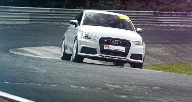 KW's Audi S1 Clubsport at the Nurburgring