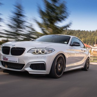 New: KW coilover kits for all BMW 2-series Coupé with xDrive