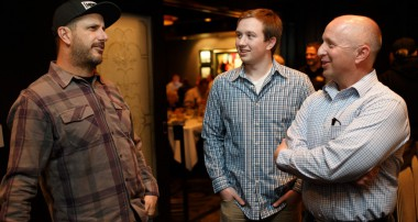 Thanks ST suspensions – lucky ST customers met Ken Block for private Dinner!