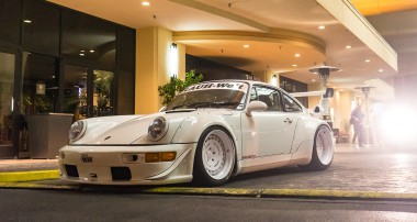 Hollywood in Vegas – tracking a RWB!