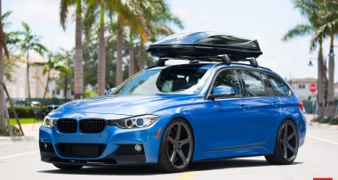 Drop Dead Beautiful: Vossen's ultimate BMW Wagon!