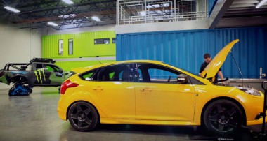 Ken Block swaps out the Suspension on his personal Focus ST!