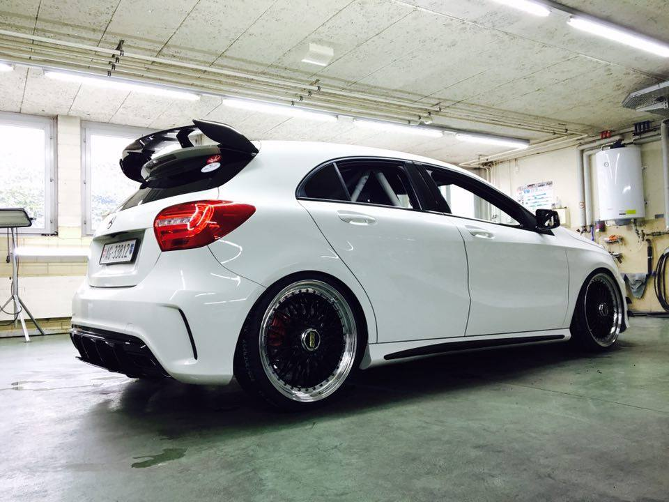 The Mercedes Gti A A45 Amg For The W 246 Rthersee 2016 Kw