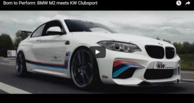Ultimate driving pleasure: KW 3 Way Clubsport coilovers for BMW M2