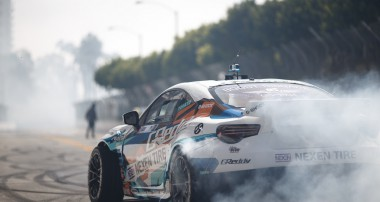 Drift: Formula D Streets of Long Beach Gushi hit's podium
