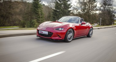 KW awakes the full potential of the new Mazda MX-5! KW Clubsport and KW Variant 3 Coilovers available