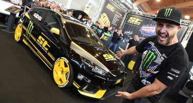 ST suspensions and Ken Block at the TUNING WORLD BODENSEE 2016