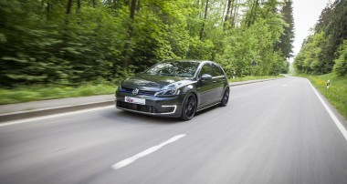"Plug-in-Hybrid meets ""Plug-in-driving pleasure"": KW coilover kit for VW Golf 7 GTE available"